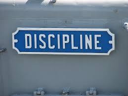 discip;inw